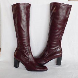 Franco Sarto Oxblood Zippered Dress boot- Sz. 6